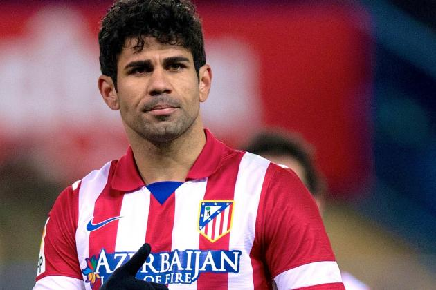 Chelsea Transfer Rumours: Diego Costa Named Jose Mourinho's Top Target