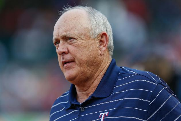 Nolan Ryan Makes Return to Arlington
