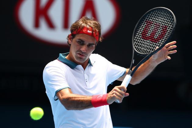 Roger Federer vs. Teymuraz Gabashvili: Recap, Results from Australian Open 2014