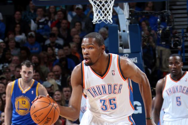 Kevin Durant Drops Career-High 54 Points vs. Warriors