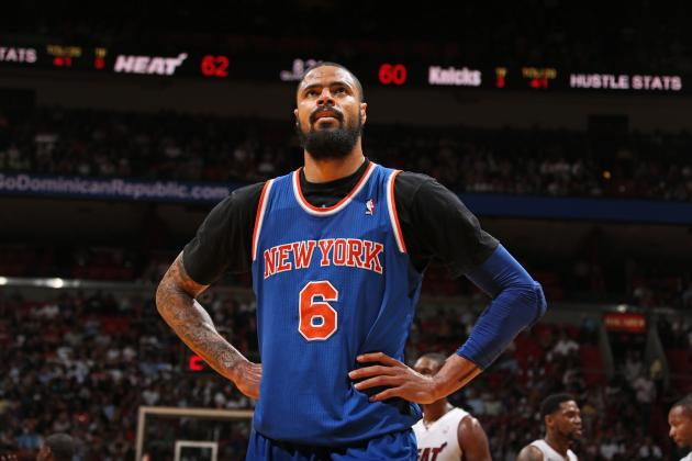 The New York Knicks Should Be Willing to Trade Tyson Chandler