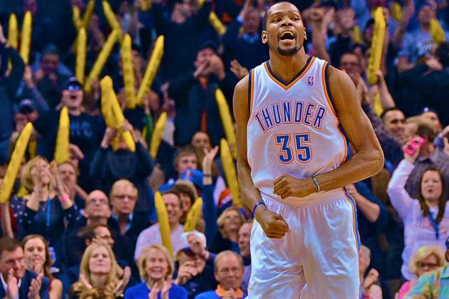 Kevin Durant Scores 54 Points, Somehow Raising His Game Yet Another Level