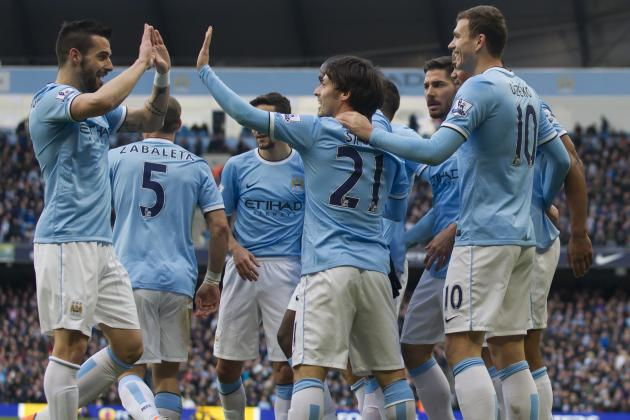 Manchester City Score 100 Goals in Record Time with Score vs. Cardiff City
