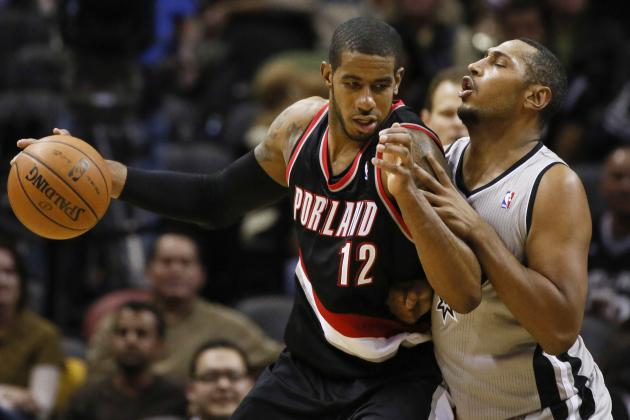 It's Matthews, Aldridge and Blazers with Knockout Punch vs. Spurs