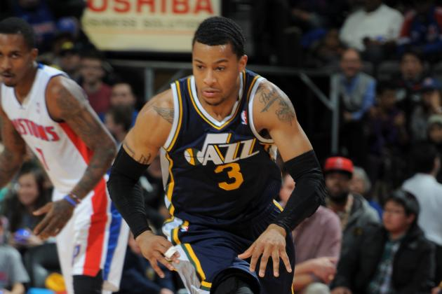 Trey Burke Leads Jazz in 110-89 Victory over Piston