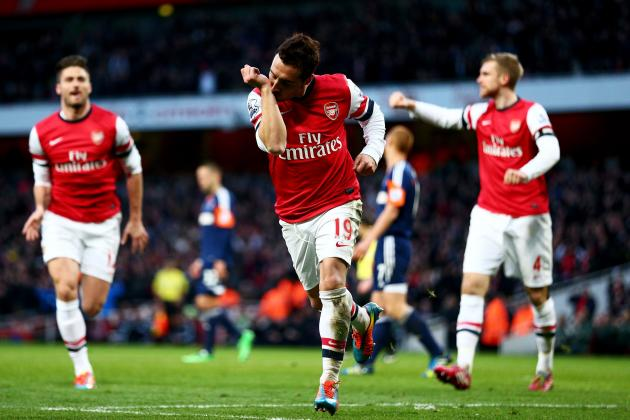Arsenal vs. Fulham: Live Player Ratings from the Emirates Stadium
