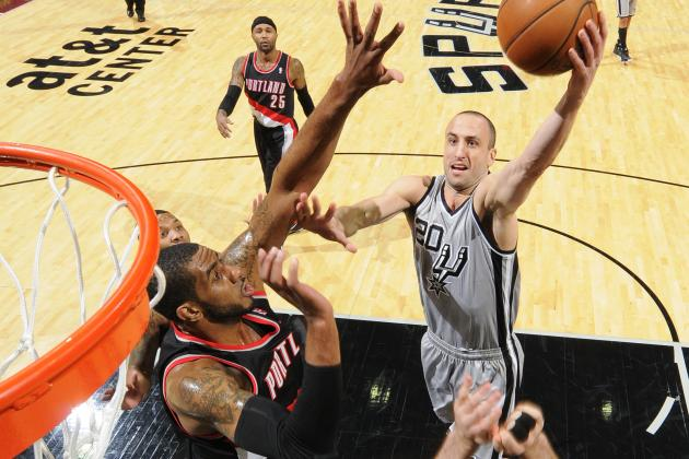 Portland 109, Spurs 100: Sputtering Down the Stretch