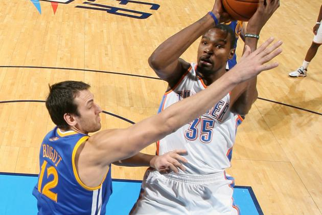 Durant Hangs 54 on Warriors as Thunder Win 127-121