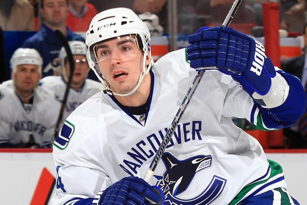 Alex Burrows (Broken Jaw) Returns to Lineup Tonight vs. Flames