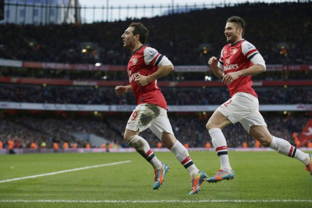 Santi Cazorla Finds His Shooting Range to Lift Arsenal Past Fulham