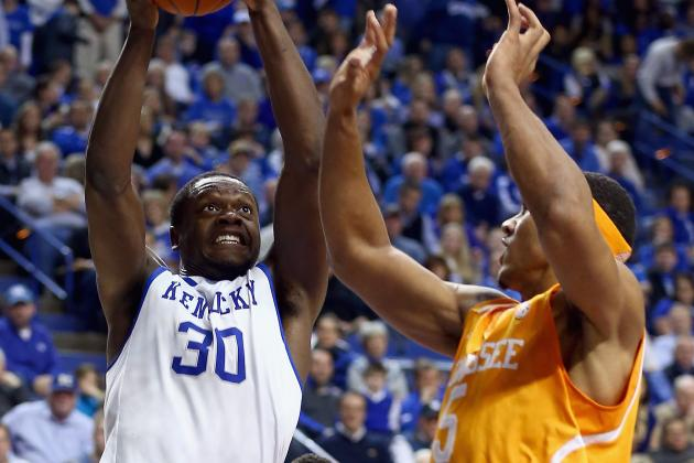 Kentucky's Hot Shooting Too Much for Tennessee