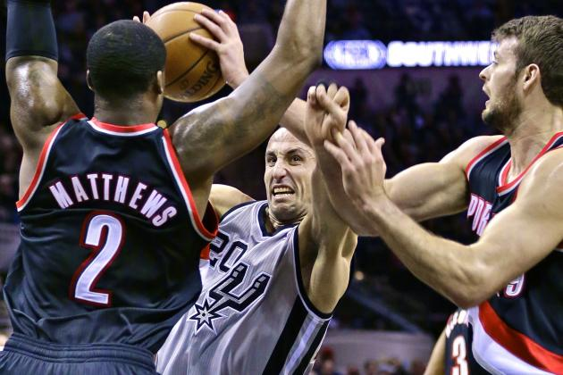 Portland Trail Blazers Troll Manu Ginobili on Twitter to Perfection