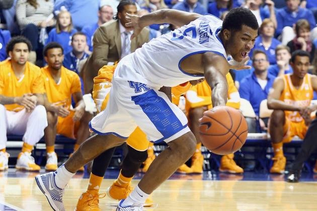 Kentucky Hits 23 of 24 FTs to Top Tennessee