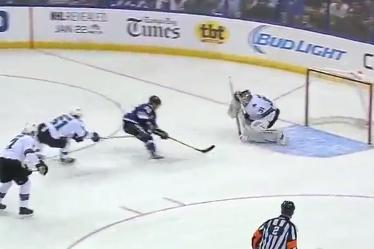 Marty St. Louis Nets Four Goals Versus Sharks Video