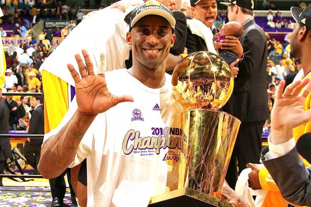 Kobe Bryant Calls 2010 Lakers-Celtics NBA Finals His Favorite Playoff Series