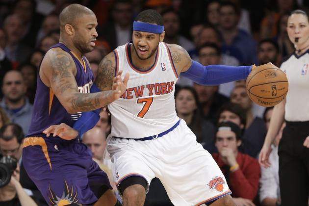 Knicks Embracing Small Ball Is Exactly What Carmelo Anthony, NY Need to Thrive