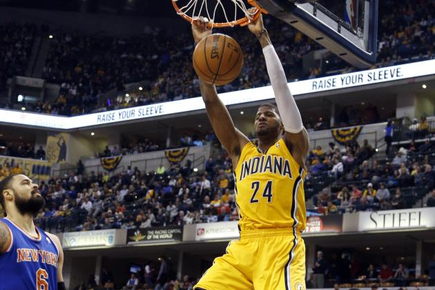 Report: Paul George Turns Down Dunk Contest Invite
