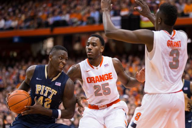 ACC Newcomers Taking over in 2013-14: Syracuse Wins Nail-Biter over Pittsburgh