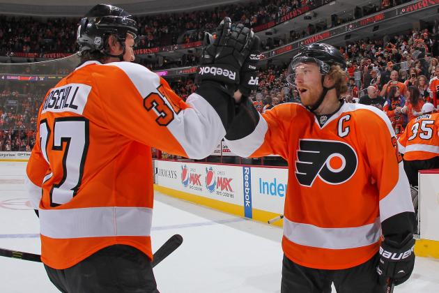 Flyers Rally for 6-4 Win over Islanders