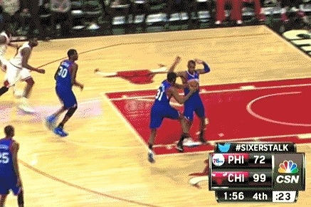 Philadelphia 76ers Play Excellent Defense Against Themselves