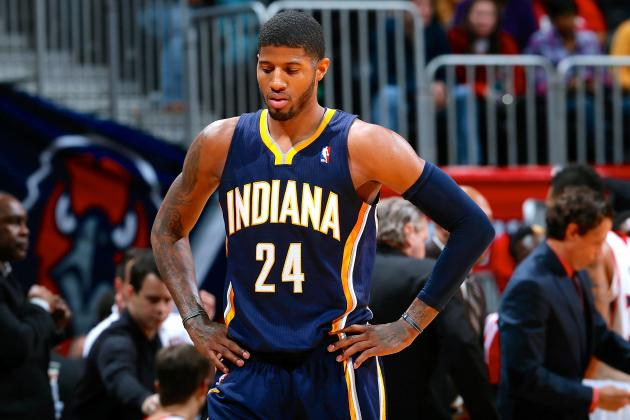 Indiana Pacers Superstar Paul George Uncertain About 2014 NBA Dunk Contest
