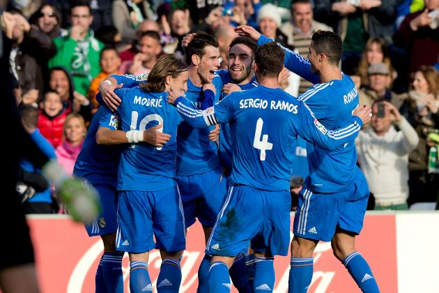 Real Striking Terror into La Liga