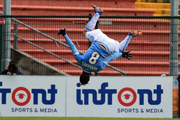 GIF: Lazio Beat Udinese 3-2 on Hernanes' 90th-Minute Solo Golazo