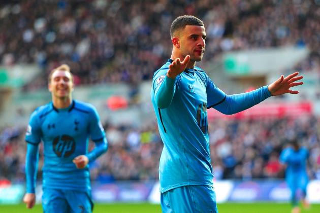 Swansea vs. Tottenham Hotspur: Premier League Live Score, Highlights and Report