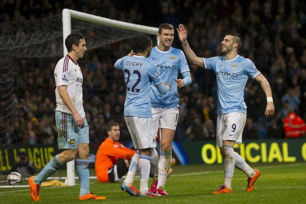 How Manchester City Will Line Up Against West Ham United in League Cup Play