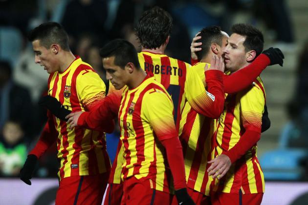 Levante vs. Barcelona: Live Player Ratings for Barca
