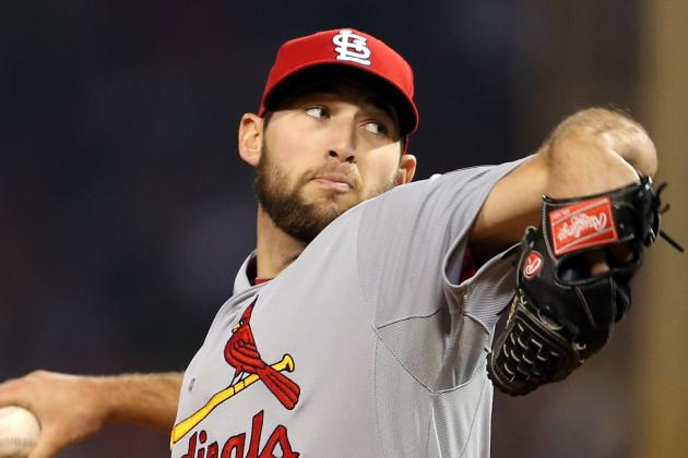 Wainwright Sees Wacha in 'Cy Young Talks'