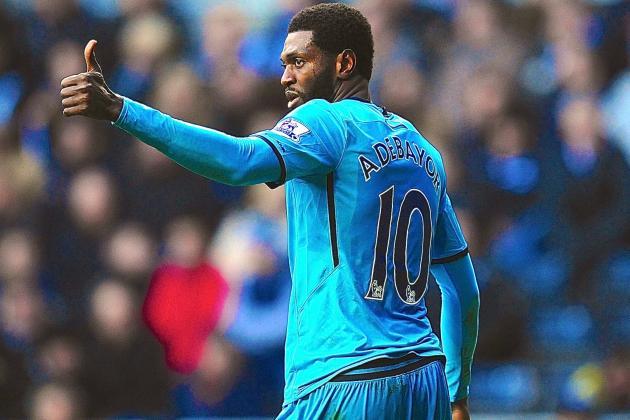 Emmanuel Adebayor, Christian Eriksen Lead as Spurs' Form Continues vs. Swansea