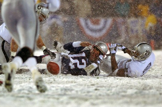 Woodson on Tuck Rule Game: 'Brady Owes Me His House'
