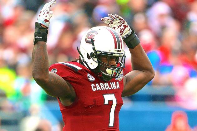 NFL Draft 2014: Jadeveon Clowney Highlights Record 98 Eligible Underclassmen