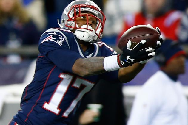 Aaron Dobson, Ryan Allen active for Patriots against Broncos