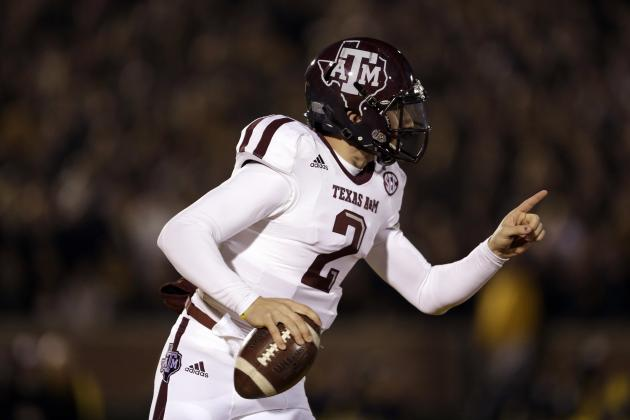 Browns Willing to Trade Up for Texas A&M QB Johnny Manziel?