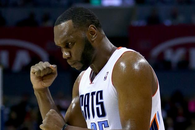 Al Jefferson Pays Respect to 'Champs' in Person After Miami Heat Prevail