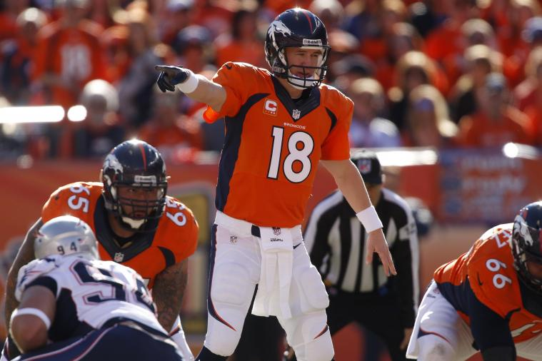 Peyton Manning Uses 'Fat Man' Call at the Line of Scrimmage