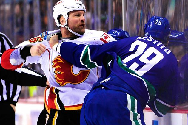 Everyone Deserves Blame in Vancouver Canucks-Calgary Flames Brawl