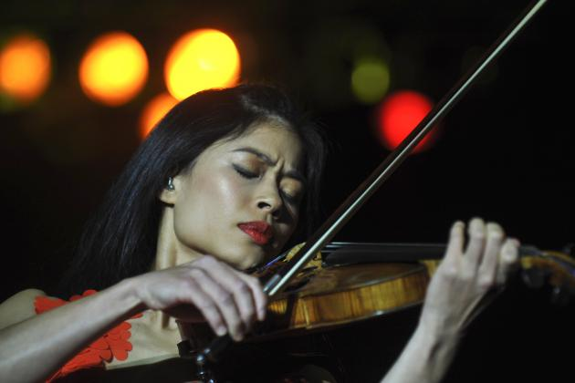 Violinist Vanessa Mae Set to Compete at Winter Olympics