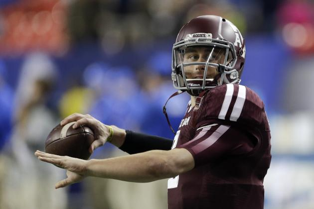 Johnny Manziel Is a Lock for Top-5 Pick in 2014 NFL Draft