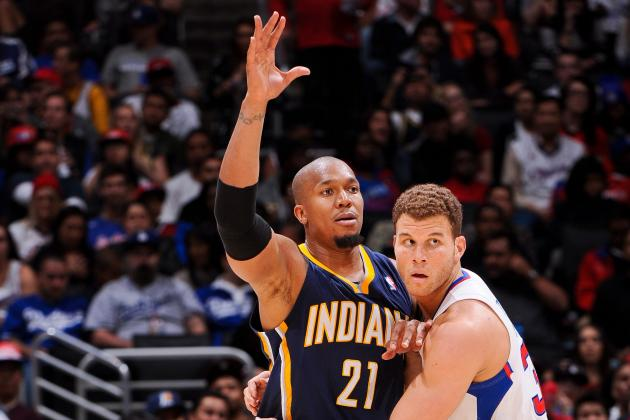 Pacers' West Fined $15K for Elbowing Griffin