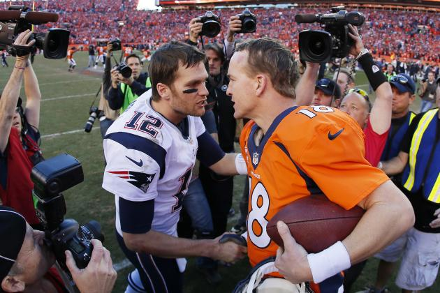 Peyton Manning vs. Tom Brady Rivalry: Analyzing QB's from AFC Championship 2014