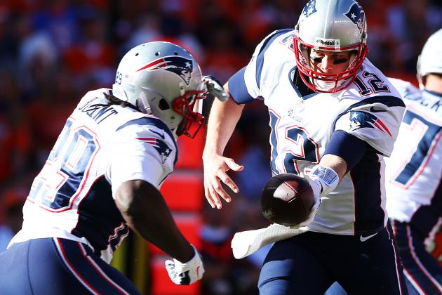 Patriots Struggle to Get Run Going in Loss to Broncos