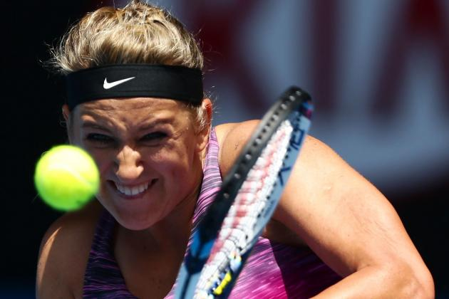 Azarenka Defeats Stephens to Advance to Aussie Quarters