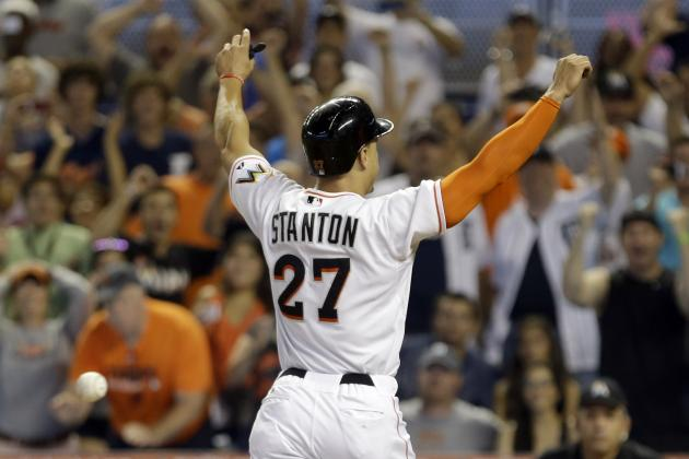 2014 Marlins Offseason: Should the Team Extend Stanton or Look to Move Him?