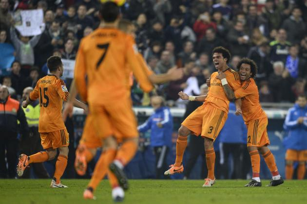 Real Madrid: How Will They Line Up Against Espanyol in Copa Del Rey?
