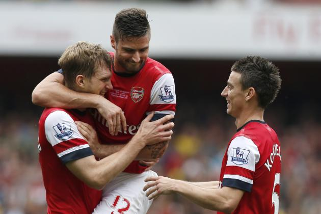 Arsenal's Title Challenge Depends on Koscielny and Mertesacker