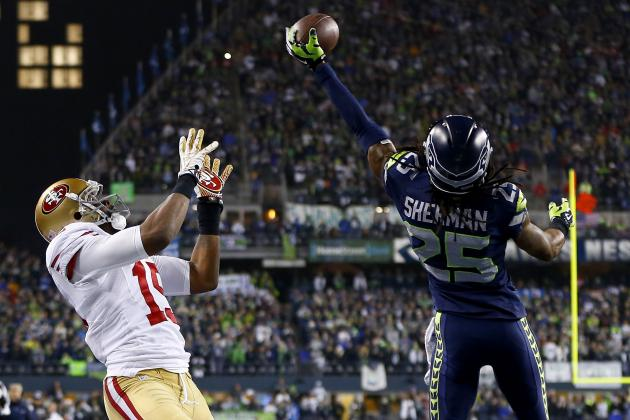 Richard Sherman Explains Actions After 2014 NFC Championship in MMQB Column