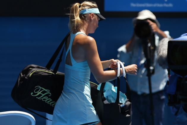What to Make of Maria Sharapova's Early Exit at the 2014 Australian Open